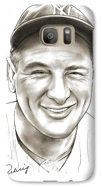 Lou Gehrig Galaxy S7 Case