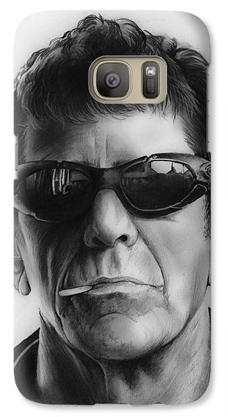 London Tube Galaxy S7 Case - Lou Reed by Greg Joens