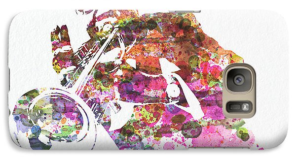Saxophone Galaxy S7 Case - Louis Armstrong 2 by Naxart Studio