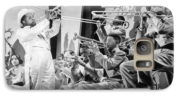 Trombone Galaxy S7 Case - Louis Armstrong by American School