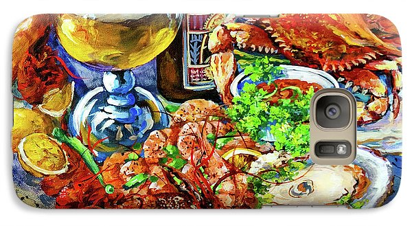 Galaxy Case featuring the painting Louisiana 4 Seasons by Dianne Parks