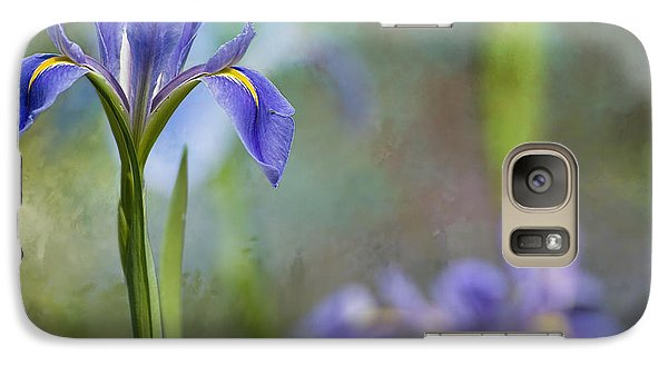 Galaxy Case featuring the photograph Louisiana Iris by Bonnie Barry