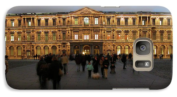 Galaxy Case featuring the photograph Louvre Palace, Cour Carree by Mark Czerniec