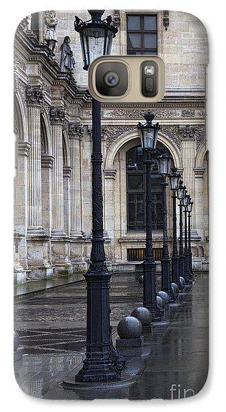 Galaxy Case featuring the photograph Louvre, Paris by Elena Nosyreva