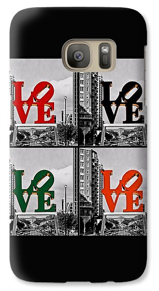 Galaxy Case featuring the photograph Love 4 All by DJ Florek