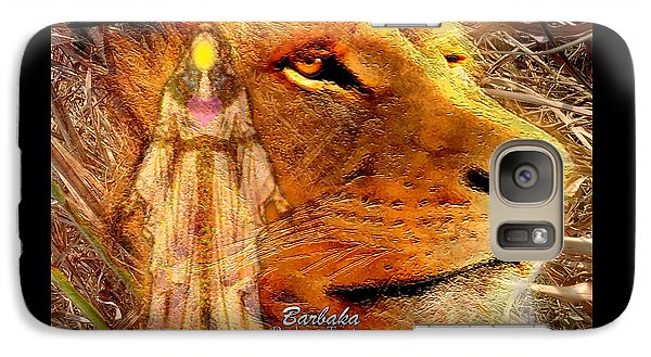 Galaxy Case featuring the digital art Love 444 Cecil by Barbara Tristan