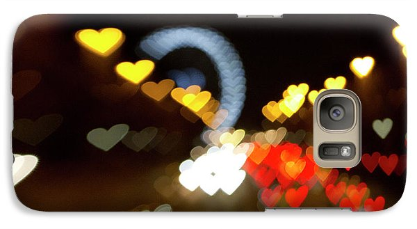 Galaxy Case featuring the photograph Love Along The Champs-elysees by Melanie Alexandra Price