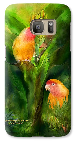 Love Among The Bananas Galaxy S7 Case