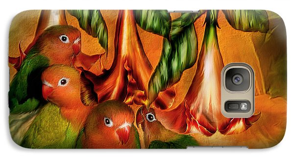 Love Among The Trumpets Galaxy Case by Carol Cavalaris