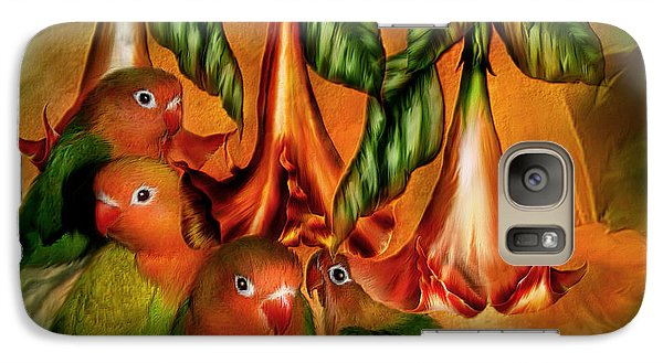 Love Among The Trumpets Galaxy S7 Case by Carol Cavalaris
