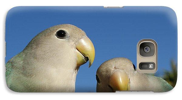 Lovebird Galaxy S7 Case - Love Birds 2 by Ernie Echols