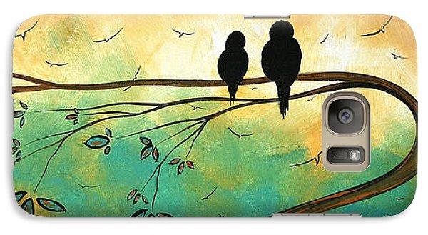 Love Birds By Madart Galaxy S7 Case