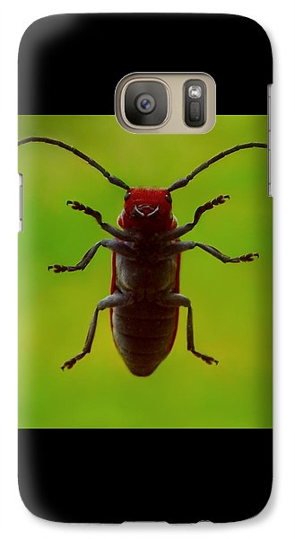 Galaxy Case featuring the photograph Love Bug by Danielle R T Haney
