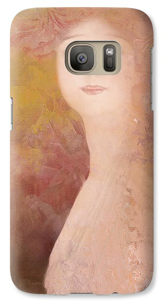 Galaxy Case featuring the digital art Love Calls by Jeff Burgess