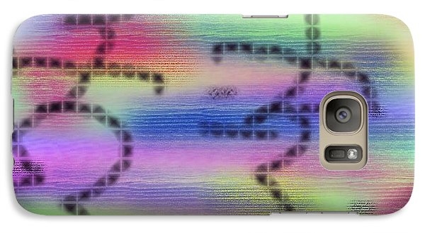 Galaxy Case featuring the digital art Love Colors by Alec Drake