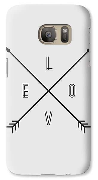 Love Compass Galaxy Case by Taylan Apukovska