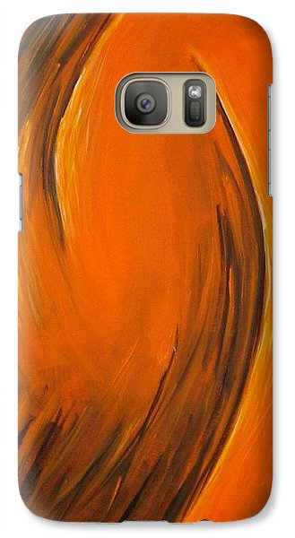 Galaxy Case featuring the painting Love by Dragica  Micki Fortuna
