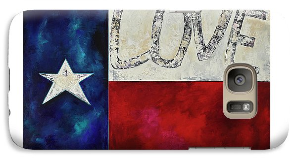 Galaxy Case featuring the painting Love For Texas Two by Patti Schermerhorn
