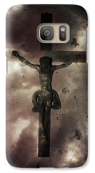 Galaxy Case featuring the painting Love by Gray  Artus