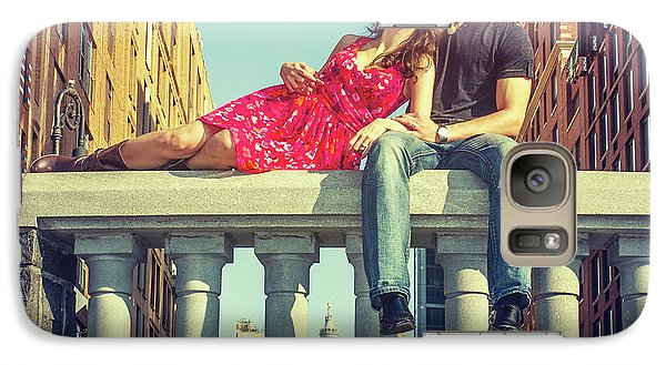 Love In Big City Galaxy S7 Case