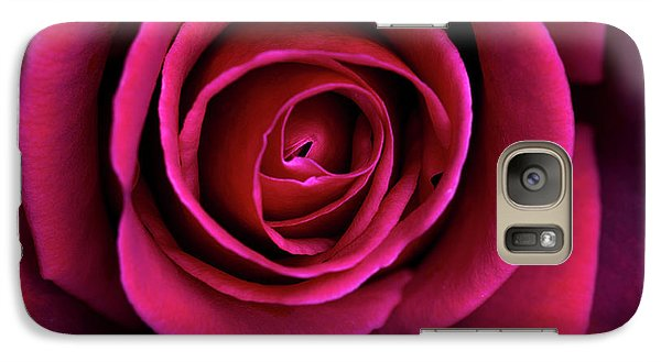 Galaxy Case featuring the photograph Love Is A Rose by Linda Lees
