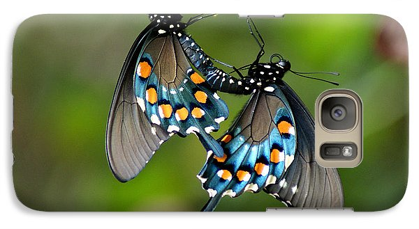 Galaxy Case featuring the photograph Love Is In The Air by Rick Friedle
