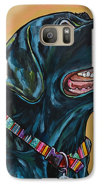 Galaxy Case featuring the painting Love Lab by Patti Schermerhorn