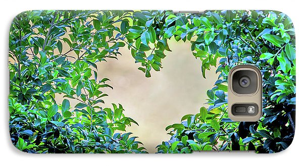 Featured Images Galaxy S7 Case - Love Leaves by Az Jackson