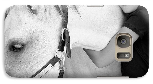 Galaxy Case featuring the photograph Love My Pony by Barbara Dudley
