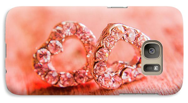 Galaxy Case featuring the photograph Love Of Crystals by Jorgo Photography - Wall Art Gallery