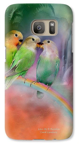 Love On A Rainbow Galaxy S7 Case