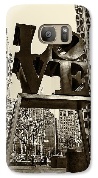 Love Philadelphia Galaxy Case by Jack Paolini