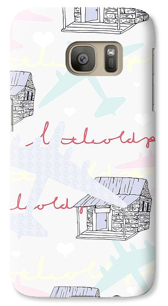 Love Shack Galaxy Case by Beth Travers