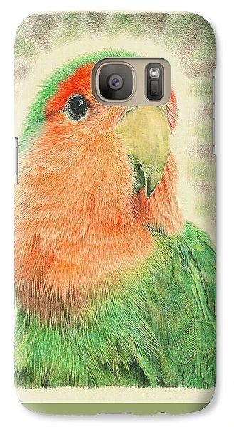 Lovebird Galaxy S7 Case - Lovebird Pilaf by Remrov