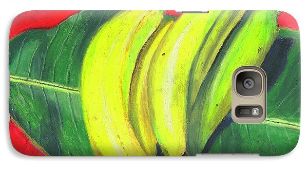 Galaxy Case featuring the painting Lovely Bunch Of Bananas by Arlene Crafton