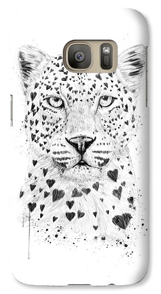 Great White Shark Galaxy S7 Case - Lovely Leopard by Balazs Solti
