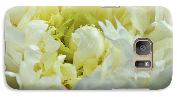 Galaxy Case featuring the photograph Lovely Peony by Sandy Keeton