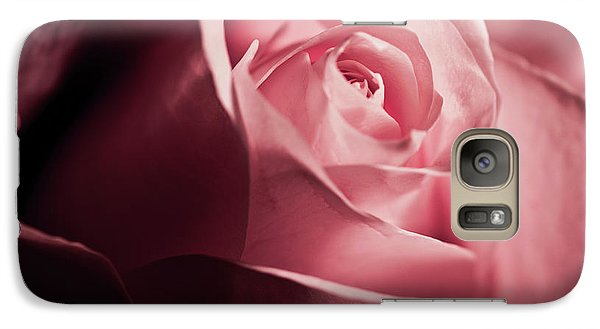 Galaxy Case featuring the photograph Lovely Pink Rose by Micah May