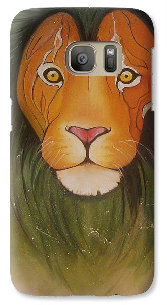 Lovelylion Galaxy Case by Anne Sue