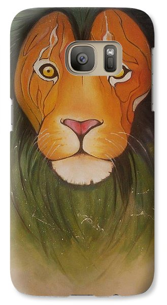 Animals Galaxy S7 Case - Lovelylion by Anne Sue