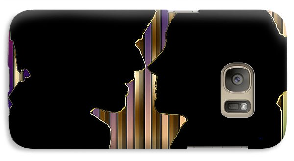 Galaxy Case featuring the digital art Loving Couple - Chuck Staley by Chuck Staley
