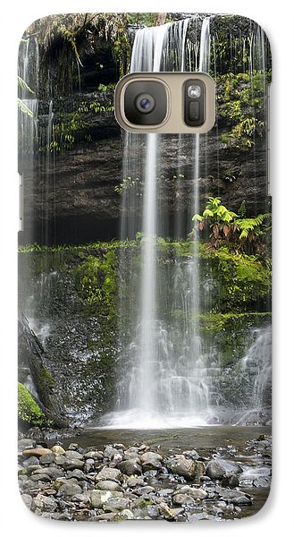 Galaxy Case featuring the photograph Lower Russell Falls Tasmania  by Odille Esmonde-Morgan