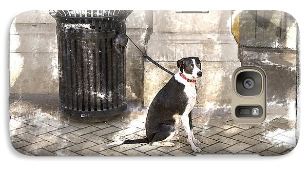 Galaxy Case featuring the photograph Loyal Dog by Craig J Satterlee