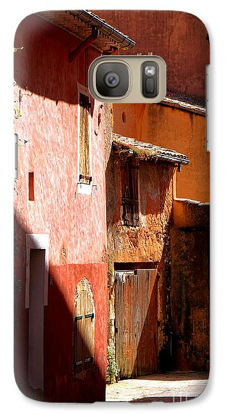 Galaxy Case featuring the photograph Luberon Village Street by Olivier Le Queinec