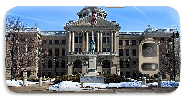 Galaxy Case featuring the photograph Lucas County Courthouse I by Michiale Schneider