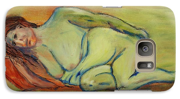 Galaxy Case featuring the painting Lucien Who? by Paul McKey