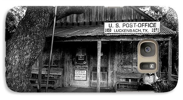 Galaxy Case featuring the photograph Luckenbach Texas by David Morefield