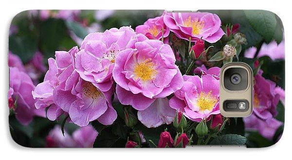 Lucky Floribunda Roses Galaxy S7 Case