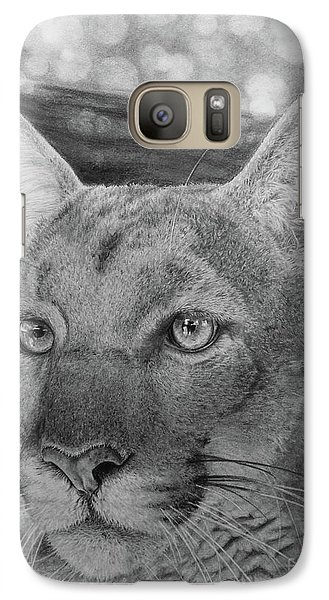 Galaxy Case featuring the painting Lucy by Jennifer Watson