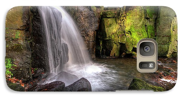 Galaxy Case featuring the photograph Lumsdale Falls 3.0 by Yhun Suarez